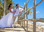 """Symbolic wedding ceremony on the Macao beach"" package"