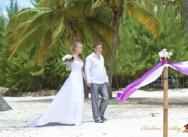 Standesamtliche Hochzeit in Cap Cana. {Igor und Katja}