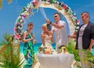 Standesamtliche Hochzeit in Cap Cana. {Zhanna und Dmitrij }