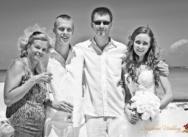 Standesamtliche Hochzeit in Cap Cana. {Nastja und Anatolij}
