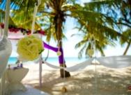 Standesamtliche Hochzeitszeremonie in der Dominikanischen Republik, Cap Cana. {Daria und Kirill}
