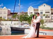 Standesamtliche Hochzeit in der Dominikanischen Republik, Cap Cana. {Igor und Nastja}