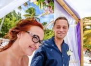 Standesamtliche Hochzeit in der Dominikanischen Republik, Cap Cana. {Anna und Martin}