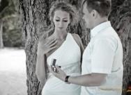 Heiratsantrag verlobung in der Dominikanischen Republik