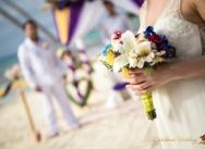 Hochzeit in der Dominikanischen Republik auf der Insel Saona. {Svetlana und Andrej}