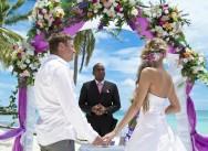 Bruiloft in Tracadero en fotosessie in Altos de Chavon