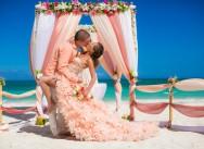 Bruiloft in de Dominicaanse Republiek, Galina en Pavel