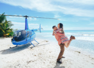 Heiratsantrag auf der Insel Saona in der Dominikanischen Republik {Jose & Yvette}