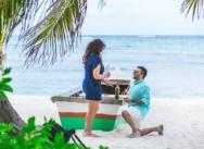 Heiratsantrag in Punta Cana {Shyam & Kirpa}