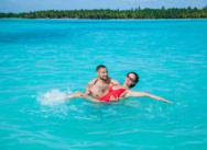 Hochzeit auf der Insel Saona {Natalia und Vitaly}