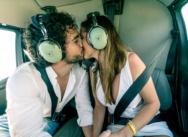 Heiratsantrag in Punta Cana. Heiratsantrag im Hubschrauber {Mario und Angy}
