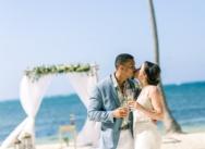 Romantische Hochzeit in der Dominikanischen Republik (Galina und Kenon)