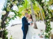 Hochzeit in der Dominikanischen Republik auf der Insel Saona {Victoria and Denis}